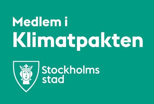 Medlem i Klimatpakten i Stockholms stad